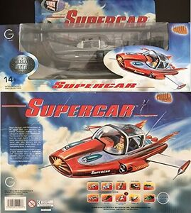SUPERCAR-Diecast-Model-Black-amp-White-Limited-Edition-Gerry-Anderson-Production