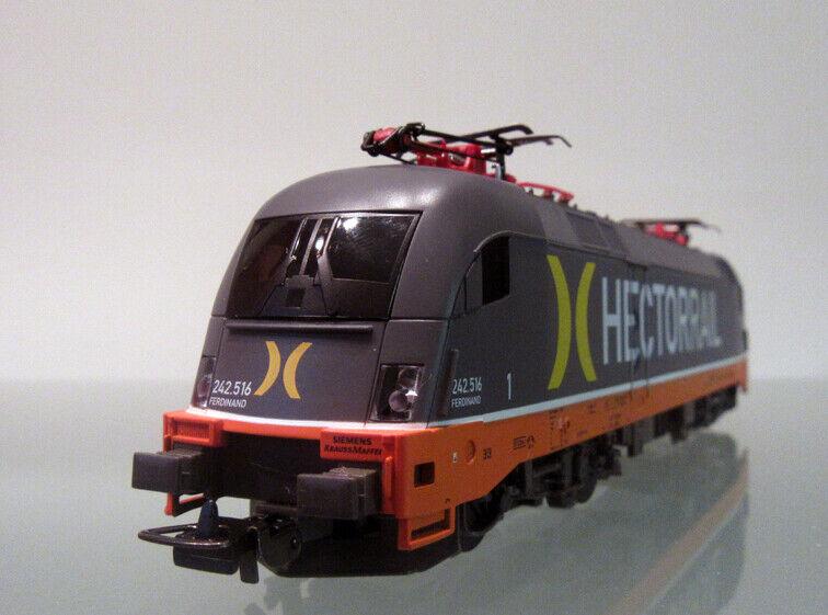 "OVP Piko H0 57923 E-Lok Rh 242 Taurus der Hectorrail /""Neuheit 2018/"" NEU"
