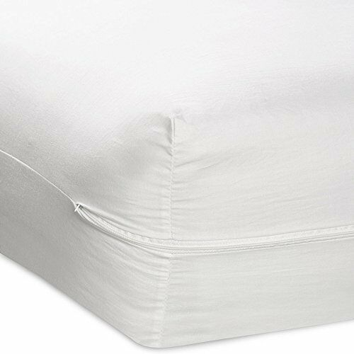 Buy Fabric Mattress Cover Zippered Waterproof Allergy Bed Bug