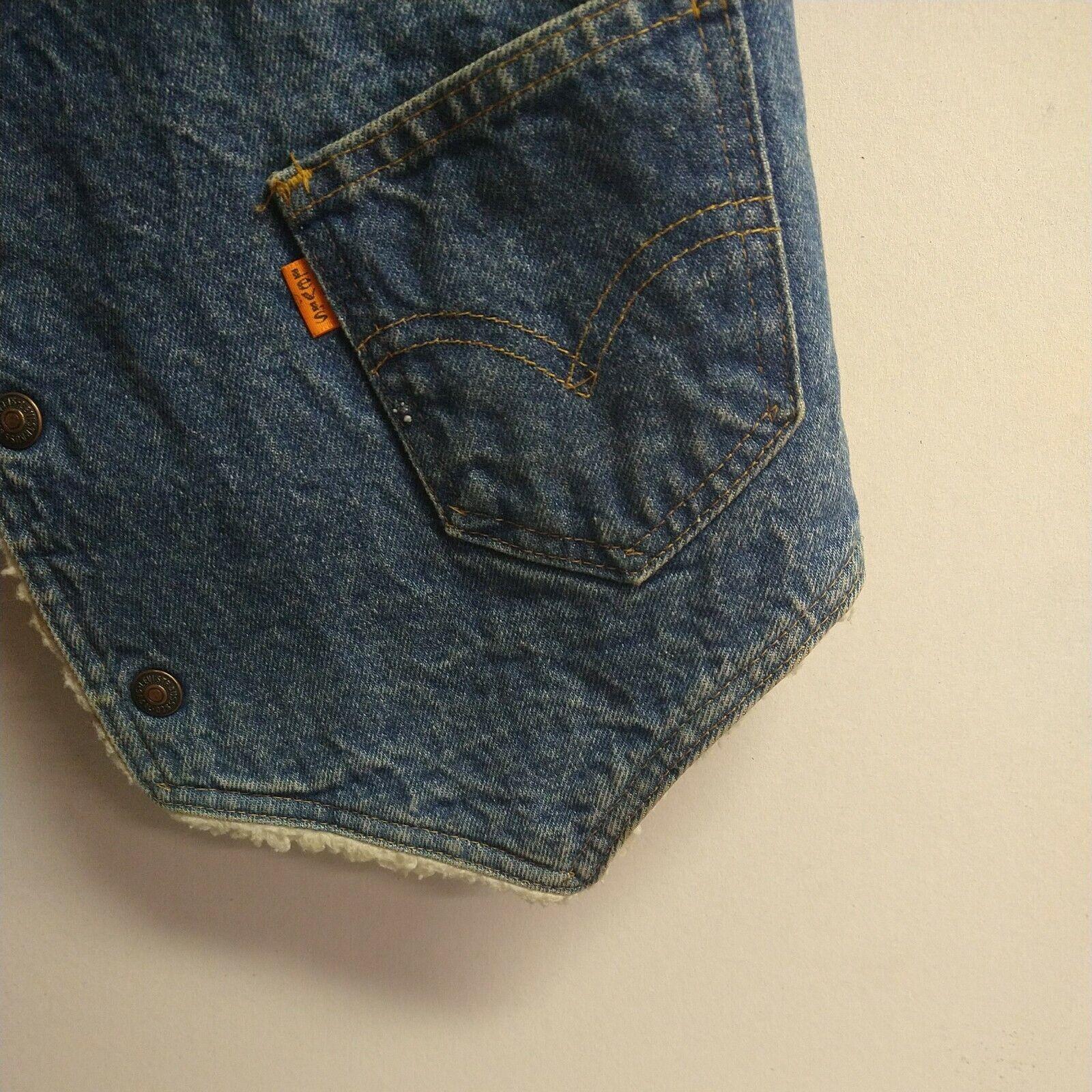 Levis vintage clothing Vest made in USA - image 2