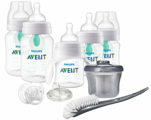 Philips Avent Anti-colic Baby Bottle with AirFree vent Beginner Gift Set...