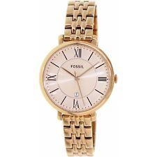 Fossil Women's Jacqueline ES3435 Rose-Gold Stainless-Steel Quartz Fashion Watch