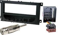 Auto Radioblende Einbauset/Rahmen+Kabel für FORD Focus 2 Facelift - 2007-2010