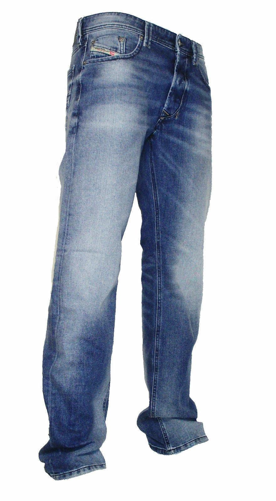 Diesel Stretch Jeans LARKEE 0853P hellblue verwaschen  Gr. 31 30  NEU