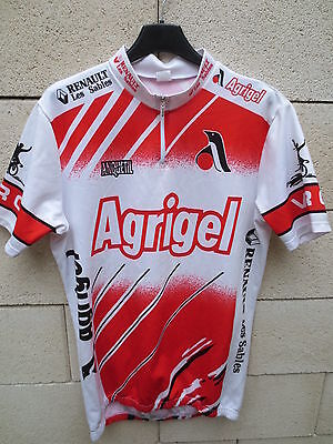 Self-Conscious Vintage Maillot Cycliste Agrigel Anquetil Cycling Jersey Camiseta V.r.c 5 L Cycling Clothing