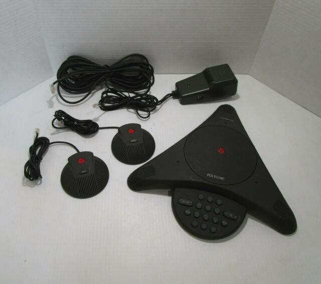 Polycom SoundStation EX  Conference Phone  with 2 Microphones 2201-03309-001 (F)