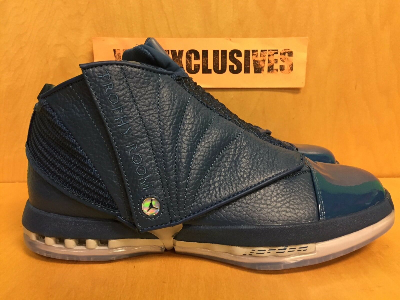 Nike Air Trophy Jordan 16 Retro XVI Trophy Air Room Exclusive French Bleu 854255-416 40afcb