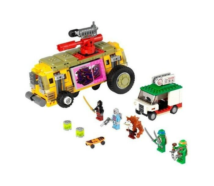 LEGO 79104 - Teenage Mutant Ninja Turtles - Shellraiser Street Chase - NO BOX