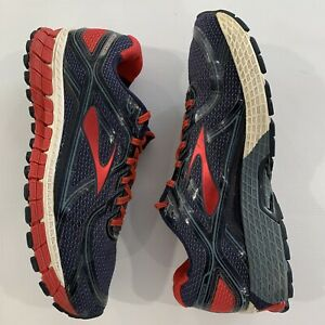 Mens-Brooks-adrenaline-gts-15-Blue-Red-Running-Athletic-Shoes-Size-10-5