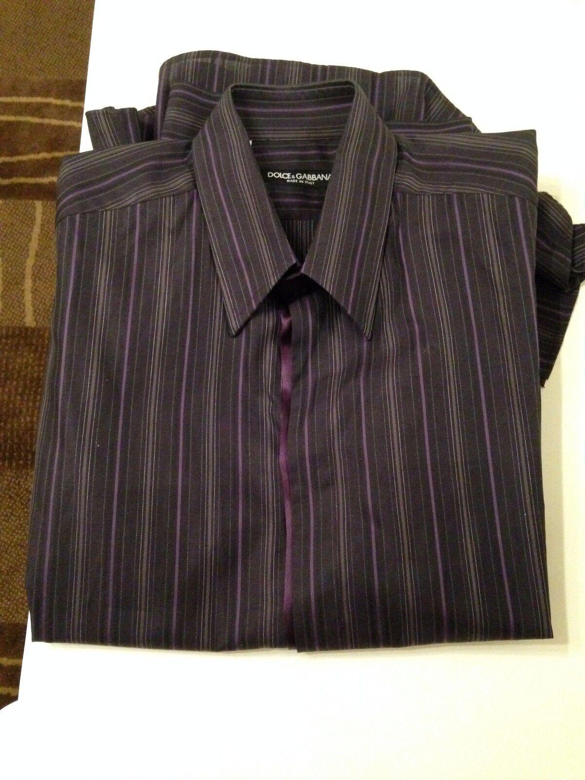 Dolce and Gabbana lila Shirt Größe 16/41