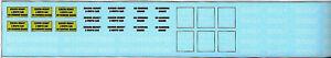 NEU-N-Scale-BNSF-Boeing-Flugzeug-Zug-Decal-Set