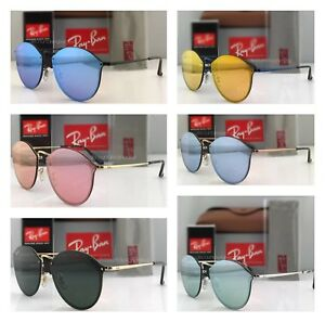 43bdcc4de9cda Ray-Ban Round Sunglasses Rb3574-N Blaze Series All Colors Available ...