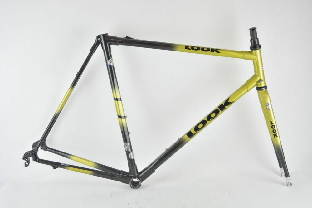 LOOK KG281 HM frame and fork    carbon    good condition