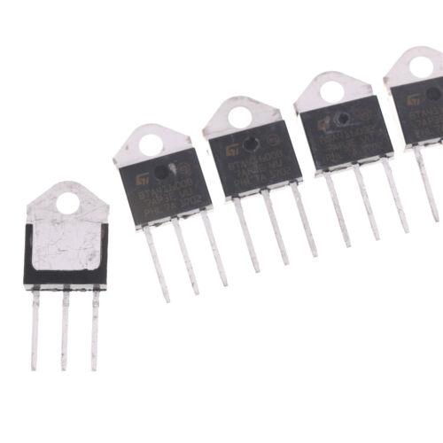 5x BTA41-600B Three Pole Triac SCR Bidirectional Controlled Silicon TO-3P 40A ES