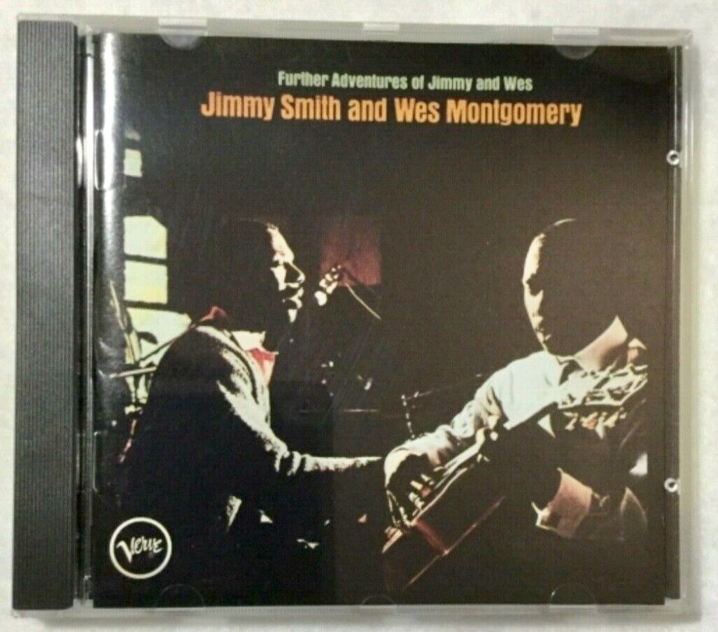 The Further Adventures of Jimmy and Wes by Jimmy Smith (Organ)/Wes  Montgomery (CD, Sep-1993, Verve)