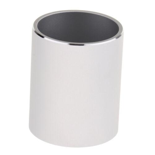 Bleistifthalter Stifteköcher Stiftebox Runde Metall für Schreibtischen