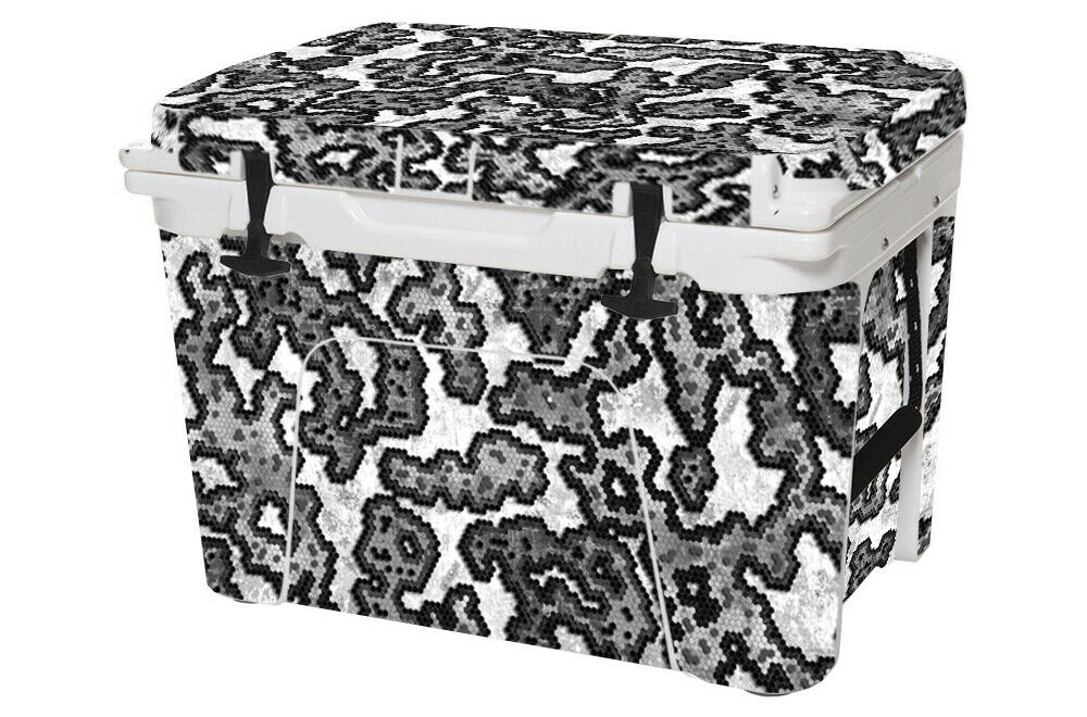 USATuff Wrap Decal Full Kit fits YETI Tundra  45qt Cooler USA Hexcam Pompeii  all goods are specials