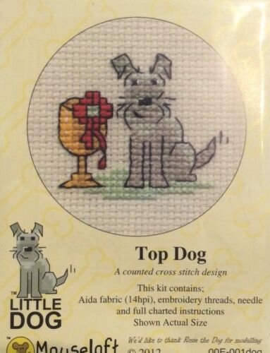 "Mouseloft /""pequeño perro puntada cruzada contada Kit-Varios A Elegir"