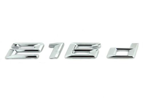 Genuine New Style BMW 216d REAR BADGE Boot Emblem 2 Series Active Tourer F45