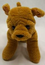 "Gund Bully The Brown Bulldog Puppy Dog 10"" Plush Stuffed Animal Toy"