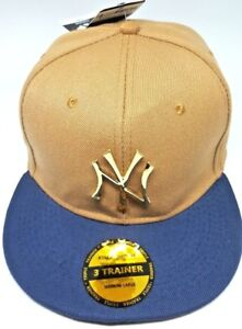 New-Era-3-Trainer-Adjustable-New-York-Yankees-MLB-Baseball-Cap-Hat-Authentic