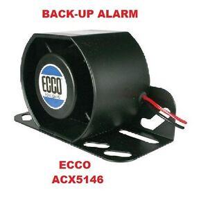 Back-Up-Alarm-12v-or-24v-87-112Db-Self-Adjusting-Beep-Tone-Reverse-ECCO-ACX5146