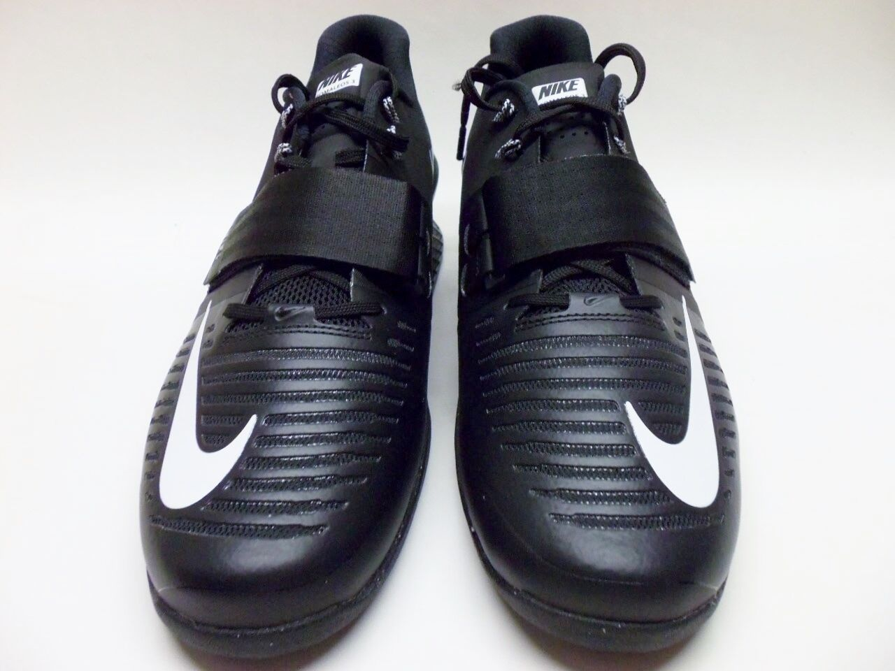 NIKE ROMALEOS 3 WEIGHTLIFTING BLACK WHITE SIZE MEN'S MEN'S MEN'S 12 [852933-002] 6fd861