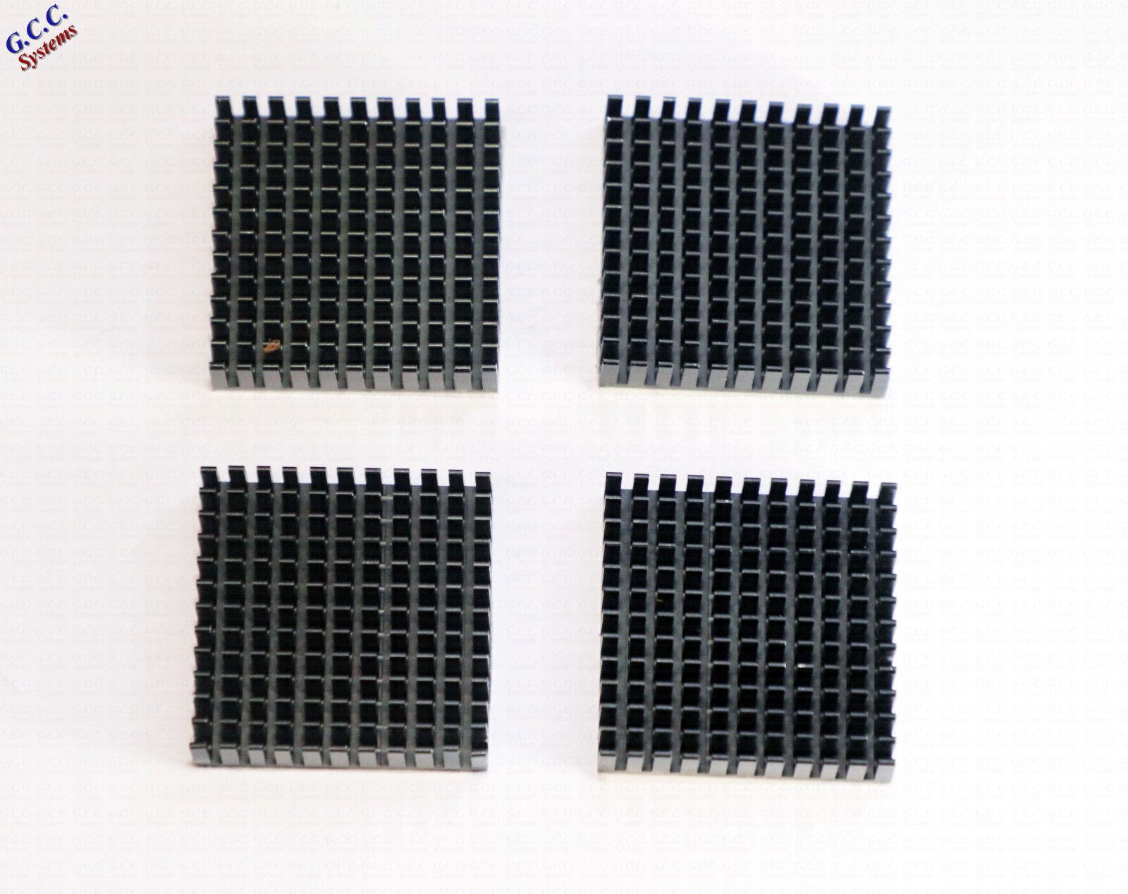 4x 3D Printer NEMA17 42 Stepper Motor Heatsinks With Adhesive Backing