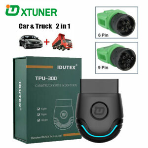 Heavy-Duty-Truck-Diagnostic-Scanner-Car-OBD2-Fault-Code-Reader-Scan-Tool-TPU300