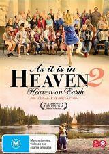 As It Is In Heaven 2 - Heaven On Earth (DVD, 2016) (Region 4) Aussie Release