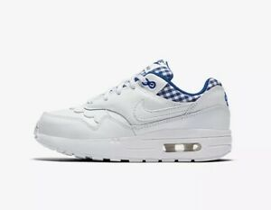 Details about New Girls Nike Air Max 1 QS (GS) Running Shoes Youth 5Y AV6238 100