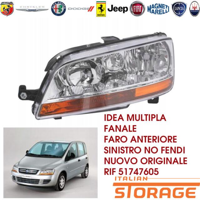 Idea Multipla Faro Delantero Izquierdo No Fendi Nuevo Original 51747605