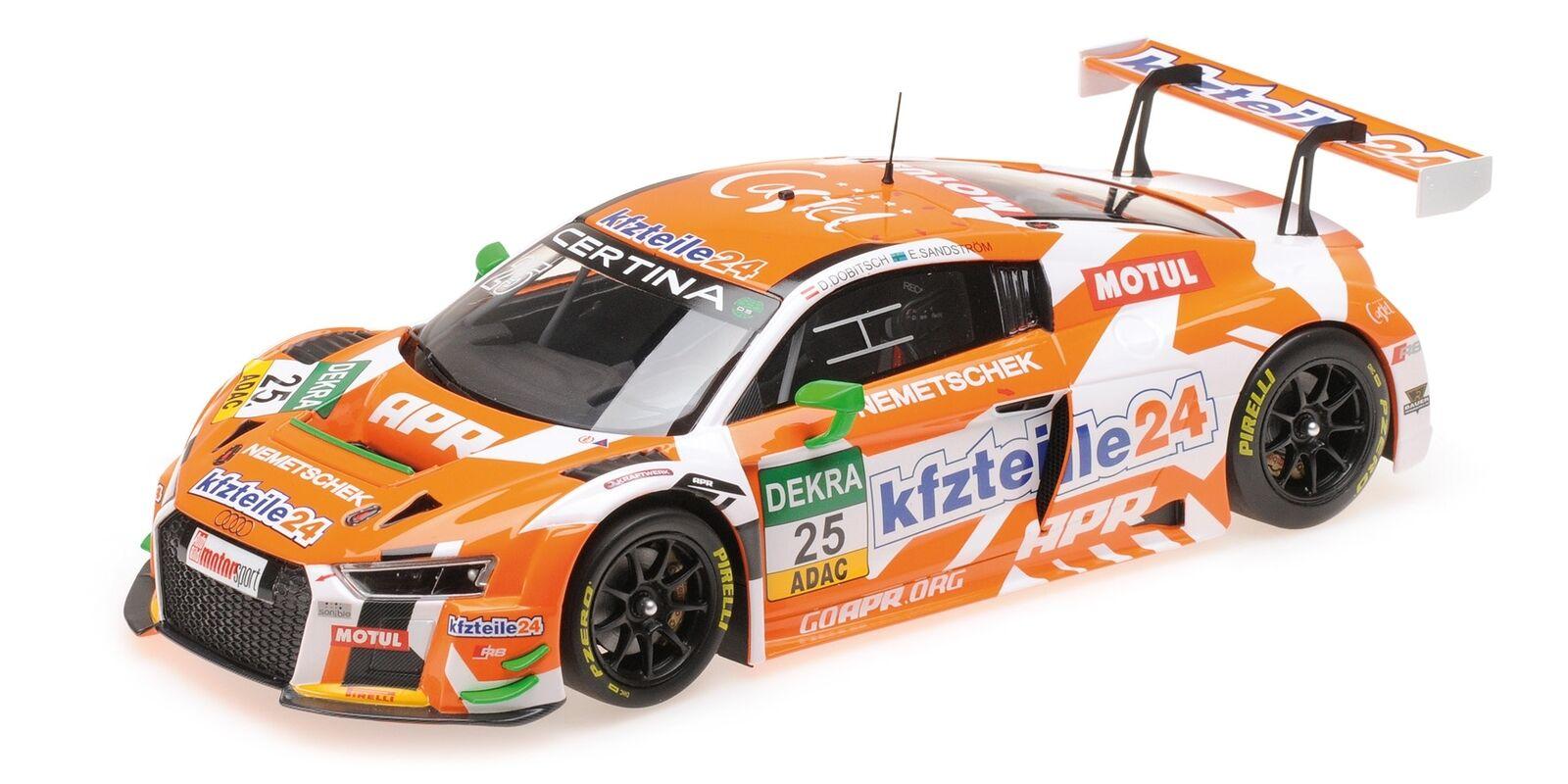 Audi R8 Lms Kfzteile 24 apr Motorsport Dobitsch Adac Gt Masters 2016 1 18 Model