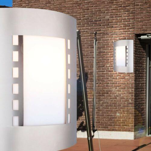 LED 9,5 Watt Haus Tür Außen Lampe Edelstahl Veranda Terrasse Beleuchtung IP44