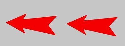 TOW HOOK FLECHA GANCHO GRUA 2 Pegatinas vinilo,Aufkleber,sticker