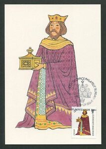 GUERNSEY-MK-1985-WEIHNACHTEN-CHRISTMAS-NAVIDAD-CARTE-MAXIMUM-CARD-MC-CM-d9165