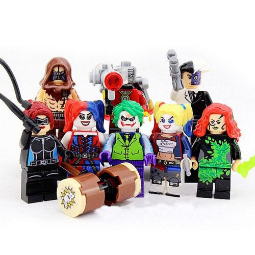 Batman Lego Movie Rare Collectable Green Lantern DC Superhero Custom Minifigs