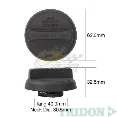 TRIDON FUEL CAP NON LOCKING FOR Toyota Kluger MCU28R 10//03-07//07 V6 3.3L 3MZ-FE