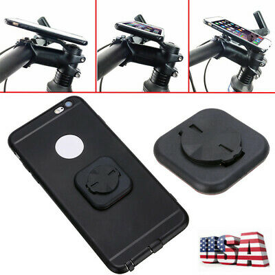 1* Phone Tag Mount Computer Mount GPS Bicycle Cycling Bracket For GARMIN Edge US