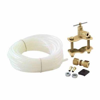 Universal Polyethylene 25' Tubing Ice Maker Kit, Easy To Install, Aqua Plumb