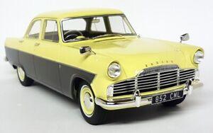 Cult 1/18 - Ford Zodiac 206E Saloon 1957 Yellow / Grey - Resin Scale Model Car