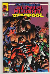 ALPHA FLIGHT/DEADPOOL n°0 (1998) - Marvel Italia