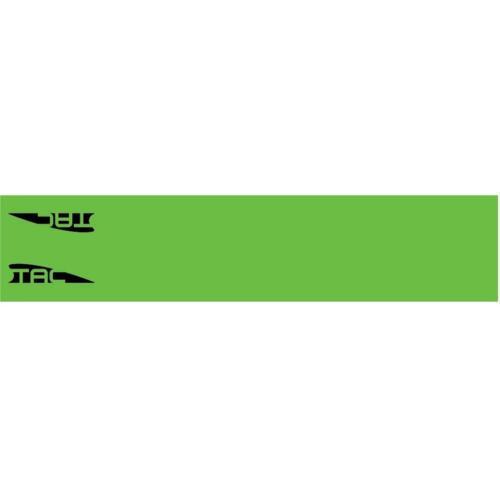 TAC VANES ARROW WRAPS GREEN 4.25 X 1.0 IN 13 PK.