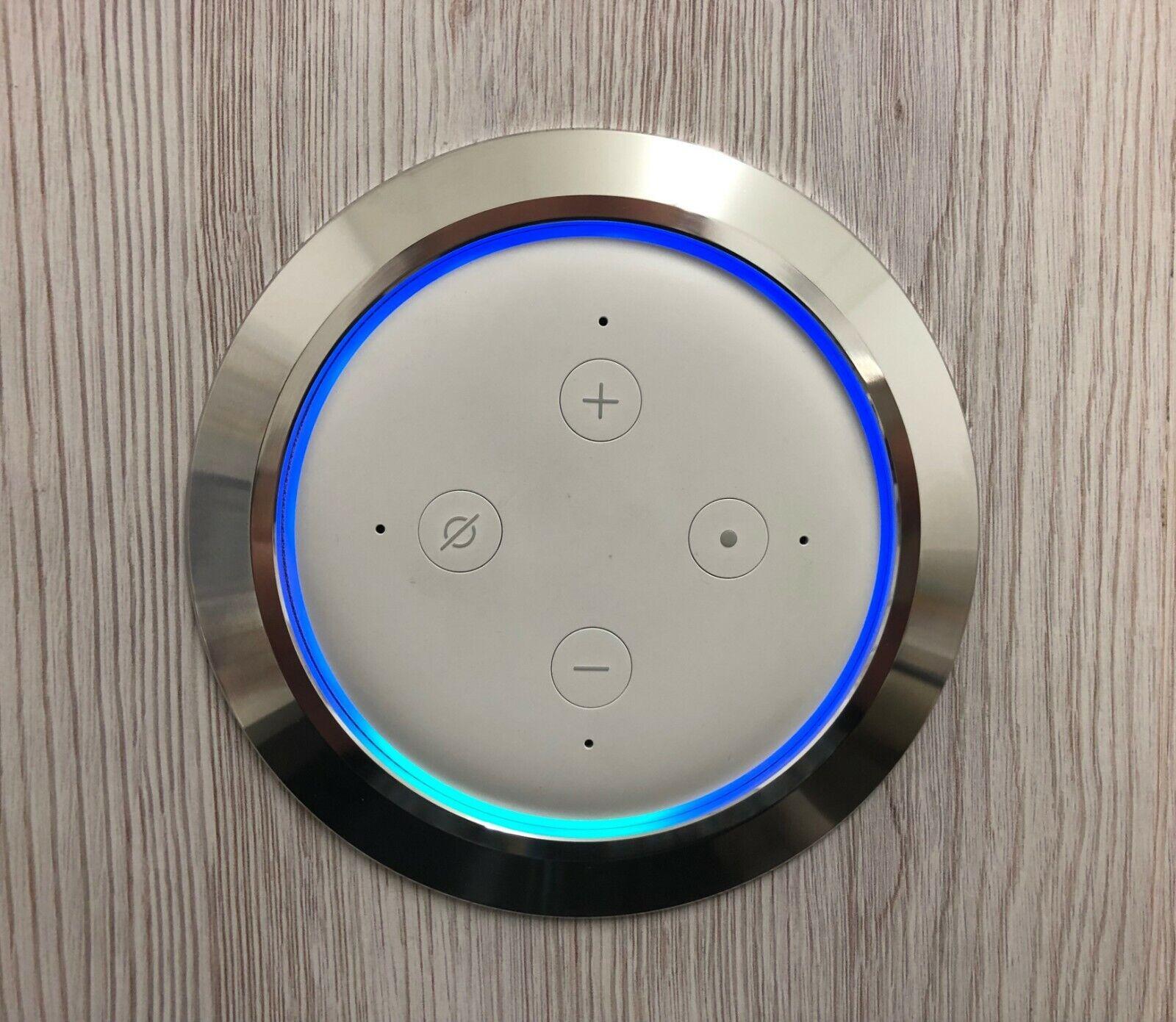 Echo Frame 3.0 , Einbaugehäuse für Amazon Echo Dot 3.Generation