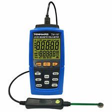 Tenmars Tm 197 Ac Dc Magnetic Field Meter Gaussmeter Teslameter Data Logging