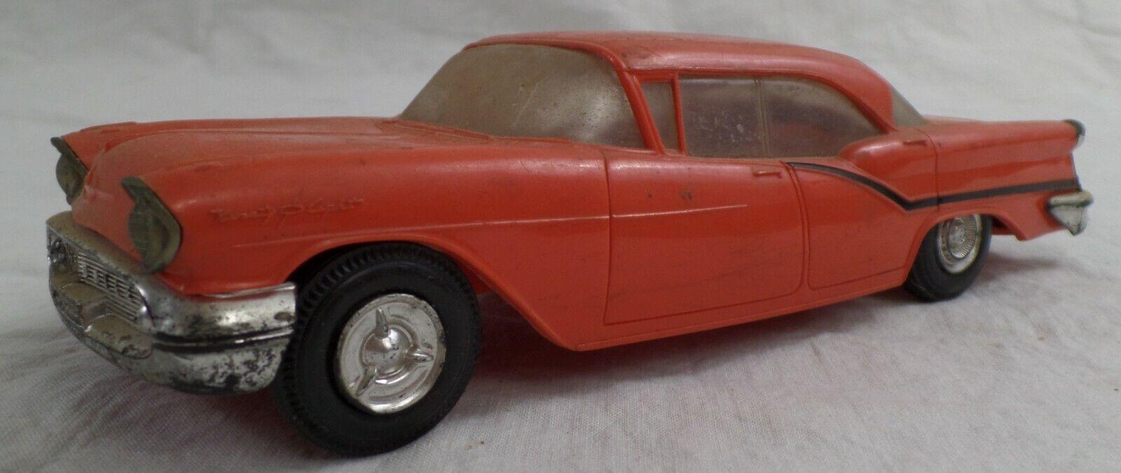 1957 oldsmobile retro Jo han Promotion Promotion Promotion Model, rojo e7c