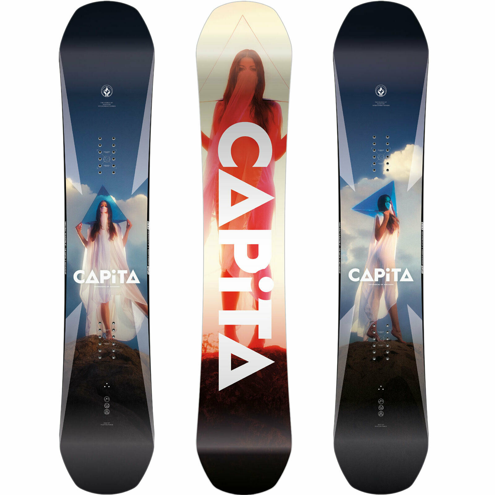 Capita Defenders of Awesome DOA Mens Snowboard All Mountain Freestyle  2020 NEW  happy shopping