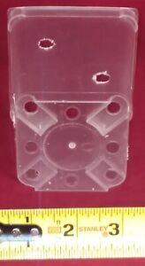 4 3 5cluvex8 Premium Clear Plastic Orchid Pot 3 5 Inch Square