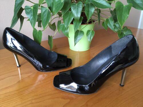 Ladies Toe Eu Russell Court Uk in nera Shoes Black 37 Peep 4 pelle Bromley grgqTWHwFp