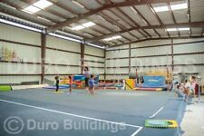 Durobeam Steel 100x240x20 Metal Building Gym Clear Span Sports Spectrum Direct